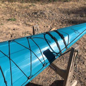 Current Designs Kestrel 140 – Hybrid, Aqua over Smoke – NOS