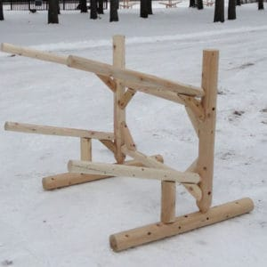 Rack – Two Place Log Rack