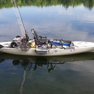 Hobie Mirage Pro Angler 14 Kayak – Camo Package – Used Demo