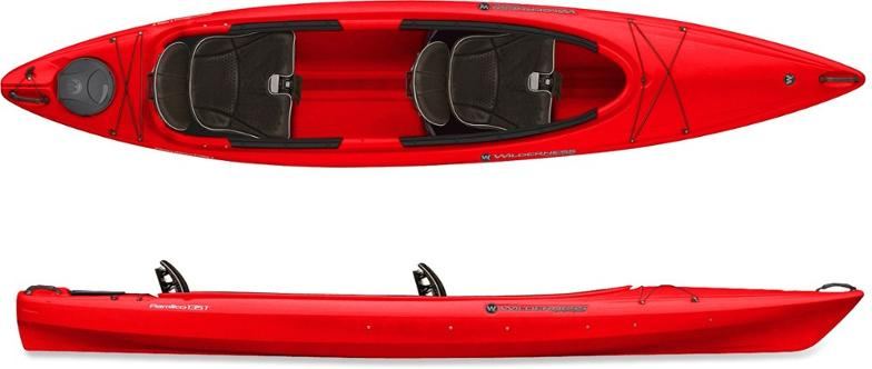 Wilderness Systems Pamlico 145t Tandem Kayak Used