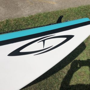 Current Designs Solstice GT Titan – Caribbean Blue over Smoke – Fiberglass – Blem