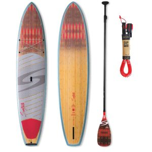 Surftech Bark Aleka Stand Up Paddle Board (SUP), Paddle & Leash Package – Desert Geo Red
