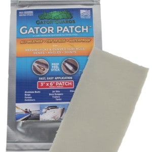 Repair – Gator Guards Gator Patch 6″ x 9″ – UV Cure Fiberglass Reinforced Repair Patch