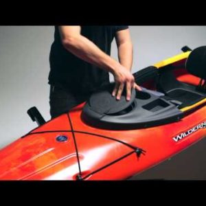 Outfitting – Wilderness Systems Kayak Konsole with Dry Hatch