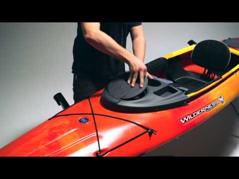 Outfitting Wilderness Systems Kayak Konsole With Dry