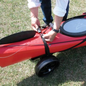 Kayak Walker with 7″ Rubber Tread Wheels