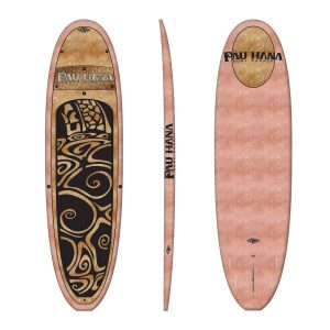 Pau Hana Oahu 10′ – Coconut Woody – Stand Up Paddle Board (SUP)