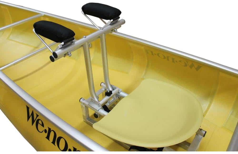 Outfitting - Wenonah Solo Canoe Yoke - Pedestal Seat