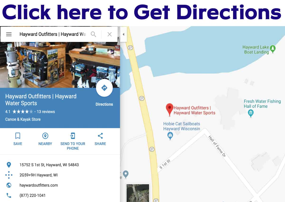 Hayward Outfitters - Store Hours and Directions