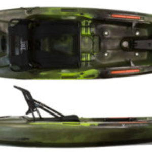 Perception Pescador Pro 10 – Recreational/Fishing Kayak
